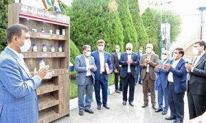 افتتاح پروژه های توسعه ای و رونمایی از محصولات جدید شرکت تماد